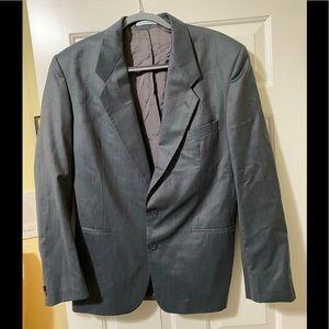 Yves Saint Laurent designer wool suit jacket M
